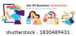 business concept illustrations. ...   Shutterstock .eps vector #1830489431