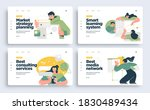 set of presentation slide... | Shutterstock .eps vector #1830489434