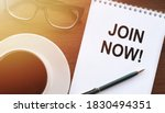 Join Now  Message On The Card...