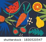 collection of decorative... | Shutterstock .eps vector #1830520547
