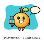 Orange Fruit Cartoon As A...