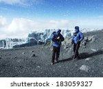 Mountaineers At Mt. Kilimanjaro ...