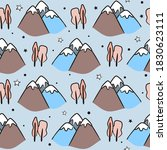seamless kids pattern with... | Shutterstock .eps vector #1830623111