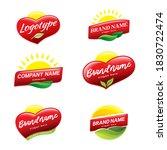 vector set solar logos design...   Shutterstock .eps vector #1830722474