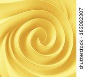 golden soft butter spiral swirl | Shutterstock . vector #183082307