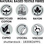 natural based textile fibre... | Shutterstock .eps vector #1830826991