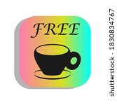 icon cup of coffee  free of...