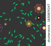 floral abstract background...   Shutterstock .eps vector #1830859247