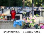 Entry To The Cemetery Wearing...