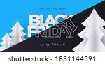black friday sale banner ... | Shutterstock .eps vector #1831144591