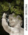 vandalized sculpture under a...   Shutterstock . vector #18311566