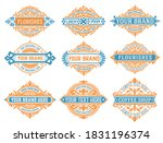 mega pack of labels and banners | Shutterstock .eps vector #1831196374