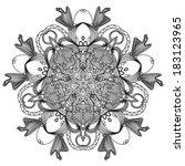 vector orvanent vintage   Shutterstock .eps vector #183123965