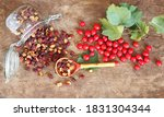 Bright Berries Of Fresh And...