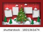 christmas postcard banner... | Shutterstock .eps vector #1831361674