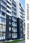 new residential building.... | Shutterstock . vector #1831445137