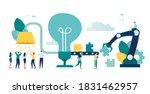 vector illustration ... | Shutterstock .eps vector #1831462957