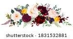 luxurios autumn vector design... | Shutterstock .eps vector #1831532881