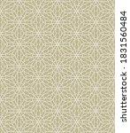 Seamless Geometric Line Pattern ...