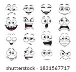 face expression isolated vector ... | Shutterstock .eps vector #1831567717