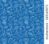 business doodle  | Shutterstock . vector #183165071