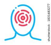 sinusitis brow bone and...   Shutterstock .eps vector #1831683277