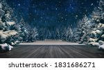 Snowy Winter Forest At Stary...