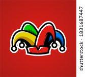 Jester Hat E Sport Logo Vector...