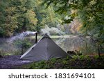 Bushcraft Tent With Stove In...