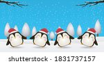 merry christmas  happy new year ... | Shutterstock .eps vector #1831737157