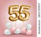 elegant greeting celebration...   Shutterstock .eps vector #1831755937