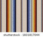 blanket stripes seamless vector ... | Shutterstock .eps vector #1831817044