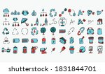 business color vector icon.... | Shutterstock .eps vector #1831844701