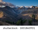 Passo Croce And Mount. Croce I...