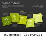 vector infographic red... | Shutterstock .eps vector #1831924231