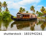 A Houseboat Sailing In...