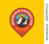 mountain expedition badge... | Shutterstock .eps vector #1831999111
