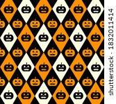 Halloween Black And Orange...
