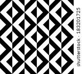 seamless geometric pattern | Shutterstock .eps vector #183201725