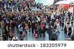 milano  italy   april 10  2013  ... | Shutterstock . vector #183205979
