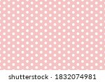 Seamless Pattern Of Large White ...