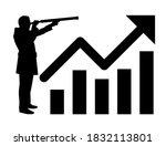 silhouette design of business... | Shutterstock . vector #1832113801