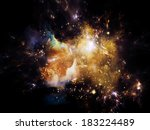 universe is not enough series.... | Shutterstock . vector #183224489