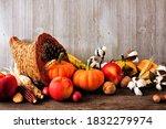 Thanksgiving Harvest Cornucopia ...