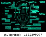 artificial intelligence and... | Shutterstock .eps vector #1832399077