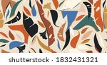 modern contemporary exotic... | Shutterstock .eps vector #1832431321