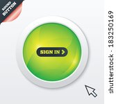 sign in with arrow sign icon....