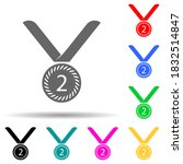 sports medal for second place...