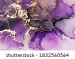 Closeup of purple and shiny...