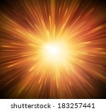 background with explosion  eps... | Shutterstock .eps vector #183257441